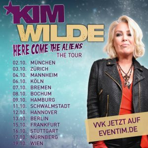 Kim Wilde (here come the aliens)